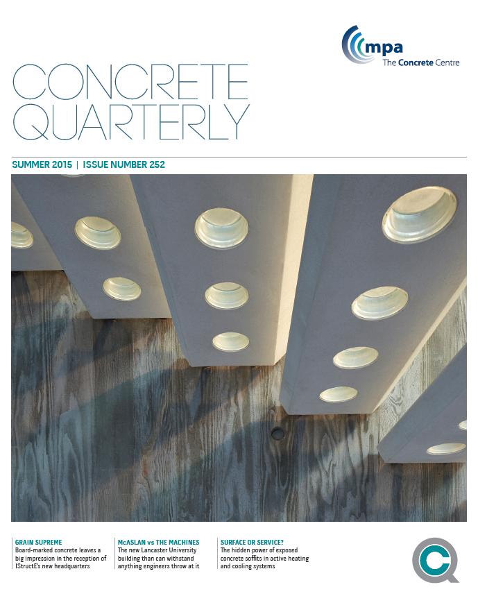 Cover of Concrete Quarterly Summer 2015