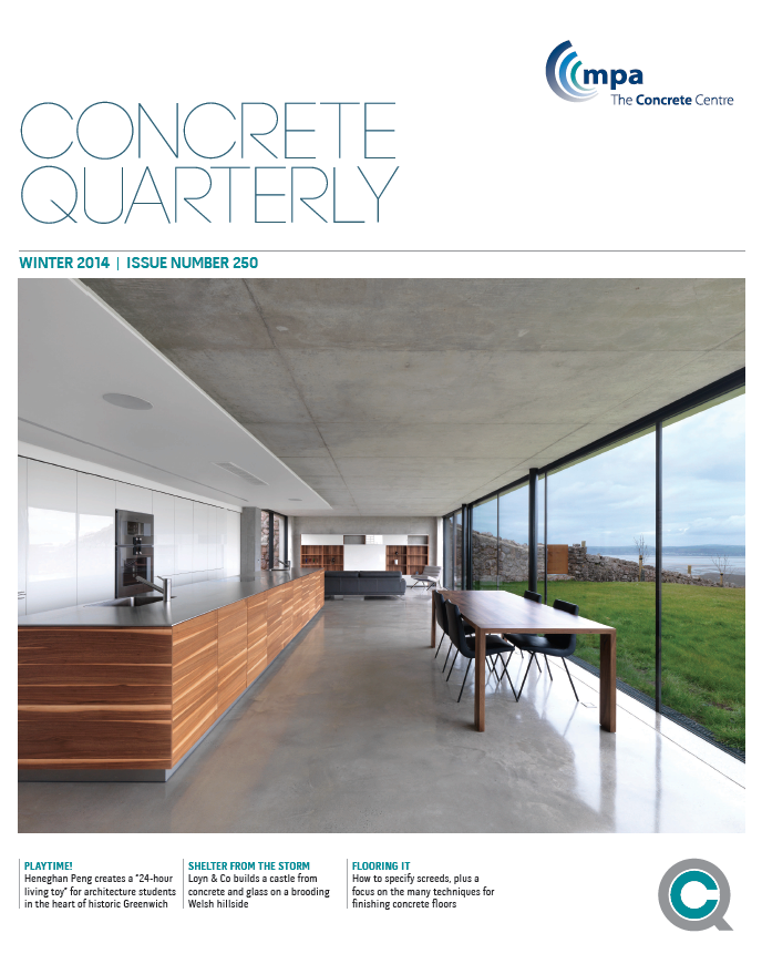 Cover of CQ Winter 2014