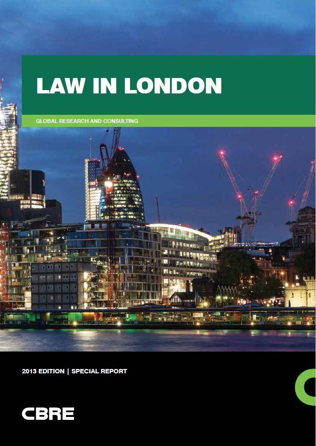 CBRE Law in London 2013_cover