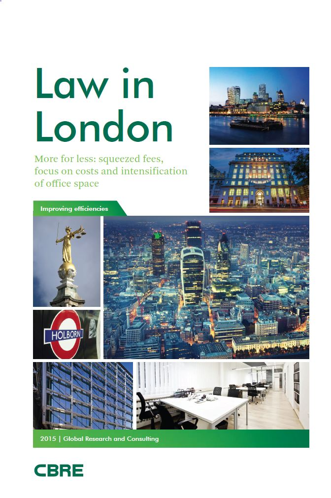 CBRE Law in London 2015_cover