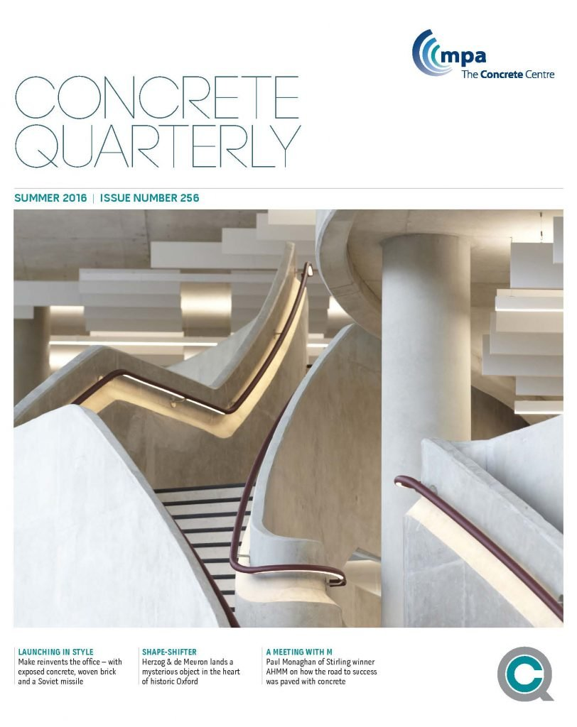 Cover of Concrete Quarterly Summer 2016