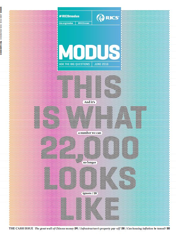 Cover of Modus June 2016